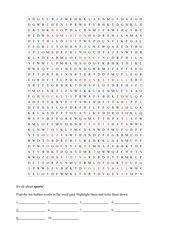 word maze sports