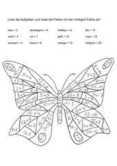 Rechenbild Zahlenraum 1-20