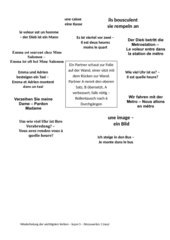 Wiederholung Vokabular - découvertes1 (neu) -  Lektion 5