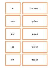 Vorsilben-/Verben-Klippklapp, Vorsilben-/'Verben Spiel