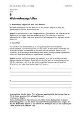 Partnerecho über Wahrnehmungsfehler in der sozialen Wahrnehmung, Teil 2