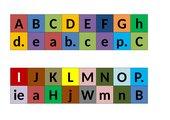 Buchstaben-Domino
