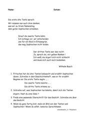 Alte Tanten ( Wilhelm Busch )