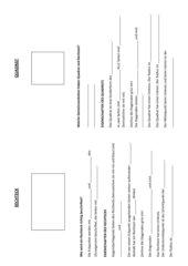 Infoblatt Rechteck und Quadrat (mit Lösung)