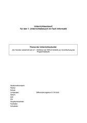 Einführung der while-Schleife mit dem Java-Hamster