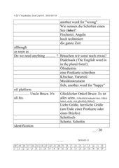 Green Line 2 G8 Unit 6-1 Vocabulary Test
