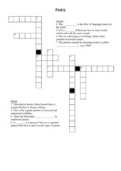 poetry-crossword