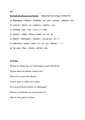 Sätze bilden