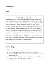 Anekdote + Präsens, Perfekt, Präteritum, Futur
