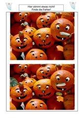 Original und Fälschung: Halloween