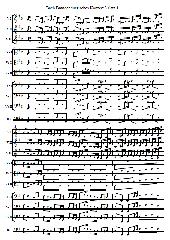 J. S. Bach Brandenburgisches Konzert Nr. 3, Satz 1