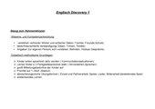 Stoffverteilungspläne Englisch