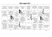 Brettspiel - Sprechspiel: Was sagen Sie?