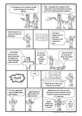 Comic zur Einführung des Additionsverfahrens