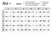 Spiel zu Funktionen (gespielt Gymn. Klasse 7 und 9)