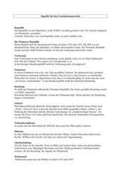 Begriffe für den Geschichtsunterricht