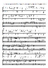 J. S. Bach Notenbüchlein für Anna Magdalena Bach Nr. 20 Menuett d-Moll
