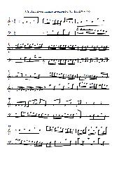 J. S. Bach Zweistimmige Invention Nr. 8 F-Dur
