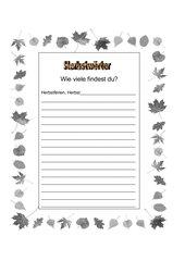 Herbstwörter