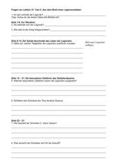 Lumina: Arbeitsblatt zu Text  2 der Lektion 21