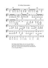 Kölsches Martinslied: D'r hillije Zinter Määtes - Der heilige Sankt Martin