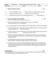 Test Dreisatz direkte/indirekte Proportionalität
