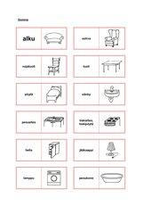 Wohnungsgegenstände Domino (Finnisch)