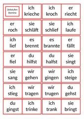Zeitstufen-Domino, GS Kl. 3
