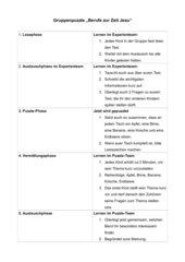Gruppenpuzzle (vereinfacht)