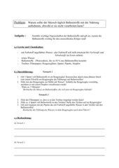 Experimentieranleitung zur Bedeutung und Funktion von Ballaststoffen