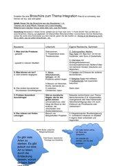 Projektarbeit zum Thema Integration