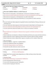 Test - Evolution - Realschule - NRW - Klassen 9-10
