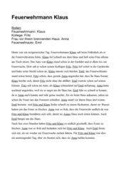 Feuerwehrmann Klaus
