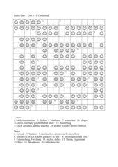 Green Line 3 Unit 4 Crossword 3