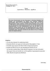 Klassenarbeiten 3