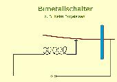 Bimetall im Bügeleisen