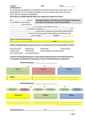 4teachers - Arbeitsblatt Kohlenhydrate