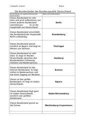 Bundesländerrätsel