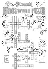 School Crossword Puzzle