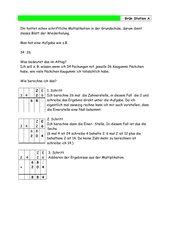 Multiplikation & Überschlagsrechnung Klasse 5