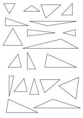 Kategorisierung von Dreiecken (RS, Gym, Kl. 7)