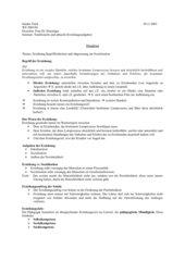 Handout Erziehung: Begrifflichkeiten und Abgrenzung zur Sozialisation