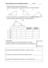 mathematik arbeitsmaterialien trigonometrie. Black Bedroom Furniture Sets. Home Design Ideas