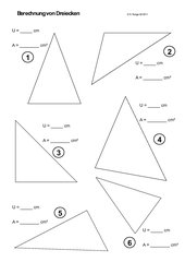 mathematik arbeitsmaterialien dreiecke. Black Bedroom Furniture Sets. Home Design Ideas