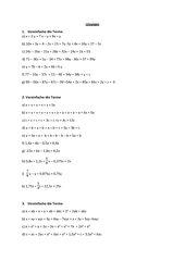 Übungsblatt zum Aufstellen und Vereinfachen von Termen