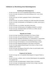 Kriterien zur Bewertung eines Säulendiagramms (im Rahmen des Methodentrainings entstanden)