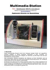 Multimedia-Station im Werkunterricht bauen