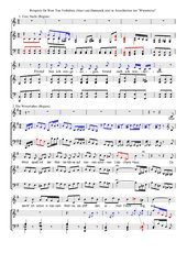 Schubert Winterreise Beispiele zur Wort-Ton- und zur Harmonikanalyse
