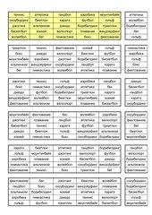 A1_Bingo_Sportarten_Russisch