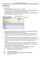 Bankdarlehen - Kredite (Excel 10)